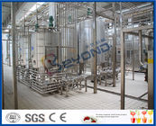 2000LPH 10000LPH SUS304 SUS316L UHT Milk Processing Plant With Filling Machine