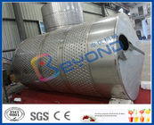 Stainless Steel Double Layer Tank For Storage / Insulation 0 ~ 100℃ Temperature Range