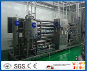 Semi Automatic Peanut Milk Production Line / Soya Milk Plant 1000-5000LPH