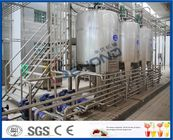 Full Auto Milk Manufacturing Plant , Yoghurt Processing Line Yogurt Making Machine