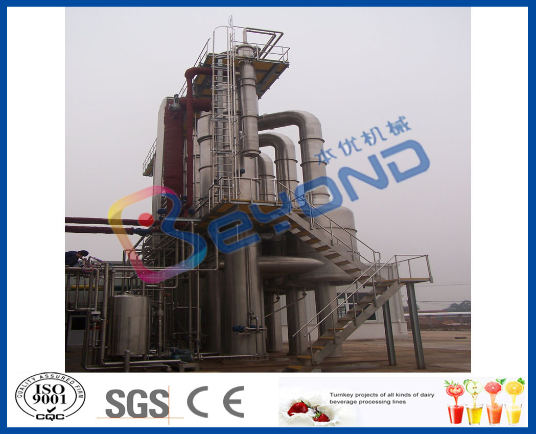 Forced Circulation Multiple Effect Evaporator With SUS304 / SUS316 Stainless Steel Material