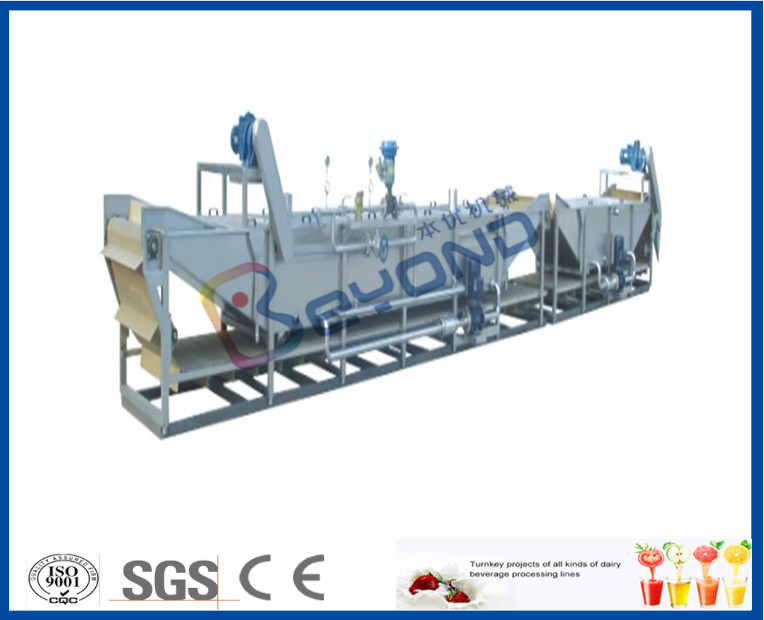 Sanitizing Plastic Bottles Milk Pasteurization Equipment With Stainless Steel SUS304 Material
