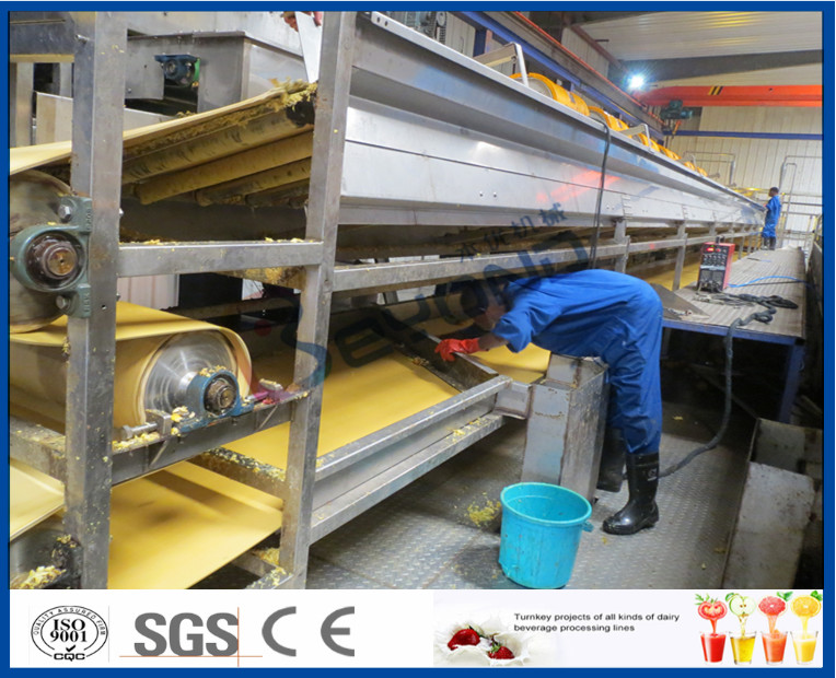 Orange Juice Manufacturing Process Orange Processing Plant , Orange Juice Making Machine