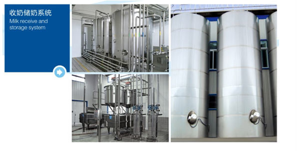 Custom Size Dairy Processing Plant Milk Processing Machine Low Consumption