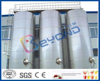 Большое на открытом воздухе молочное оборудование нержавеющей стали баков для хранения нержавеющей стали/СУС304 СУС316