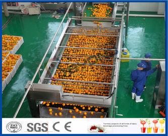 технологическая линия автоматической выдержки апельсинового сока 10ТПХ оранжевая для сока делая фабрику
