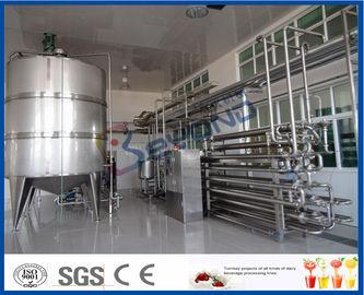 Безгнилостное оборудование пастеризации молока процедуры для завода по обработке молока